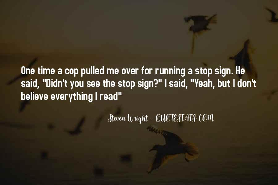 Quotes About Cop #340641