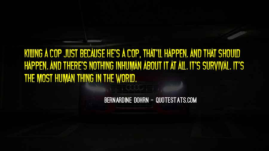 Quotes About Cop #82270