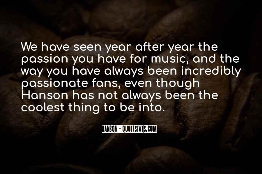 Quotes About Coolest Music #1669174