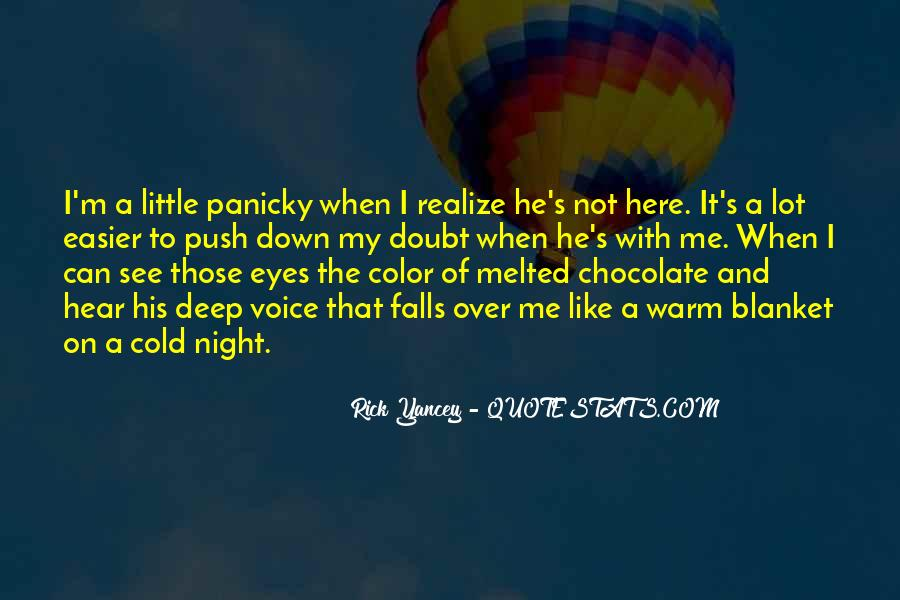 Melted Chocolate Quotes #470214