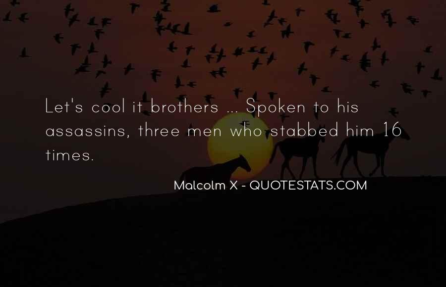 Quotes About Cool Assassins #779461