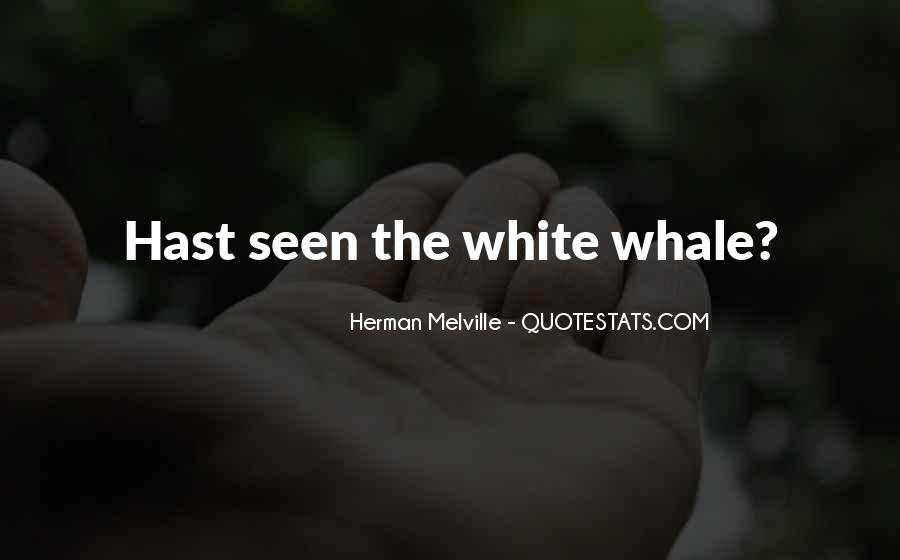 Melville White Whale Quotes #1483472