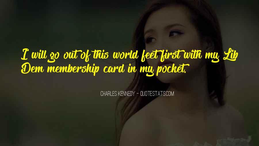 Membership Card Quotes #91989