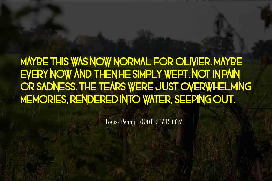 Memories And Pain Quotes #135029