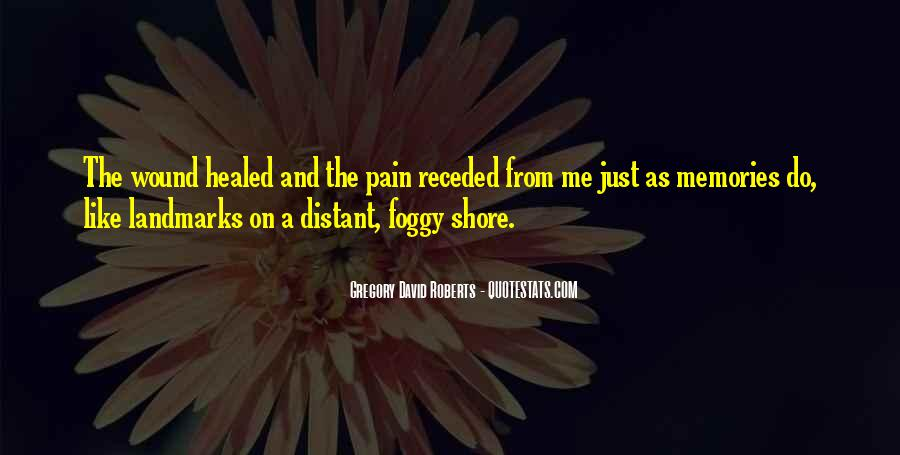 Memories And Pain Quotes #1449965