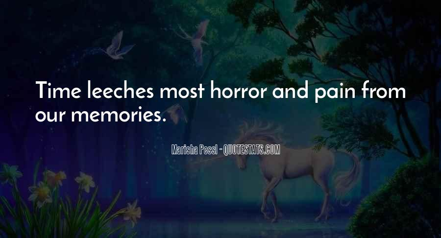Memories And Pain Quotes #146302