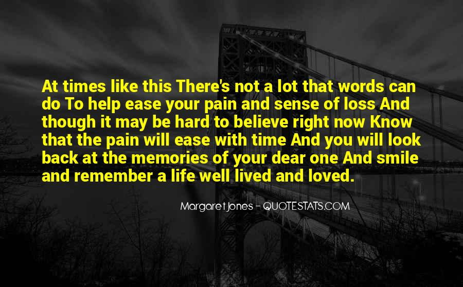 Memories And Pain Quotes #341991