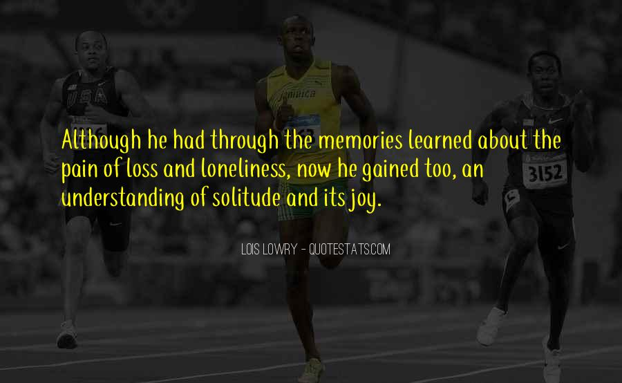Memories And Pain Quotes #523589