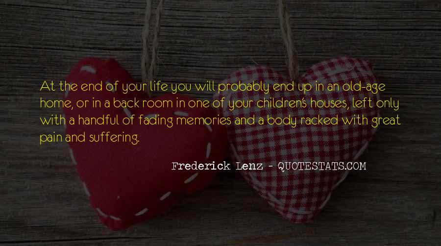 Memories And Pain Quotes #873521
