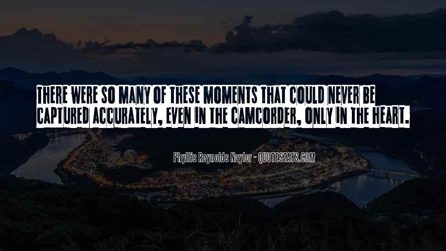 Memories Captured Quotes #14067