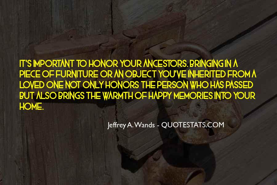 Memories Of Loved Ones Passed Quotes #1480225