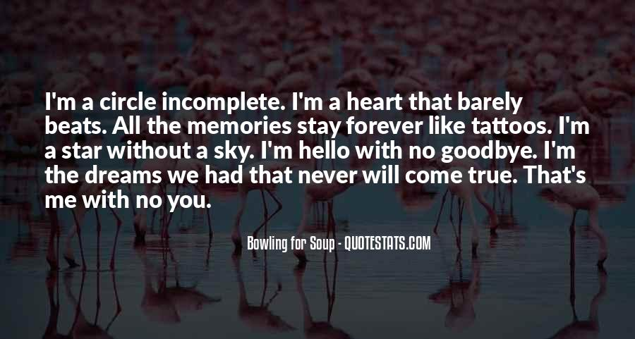 Memories Will Stay Quotes #1106462