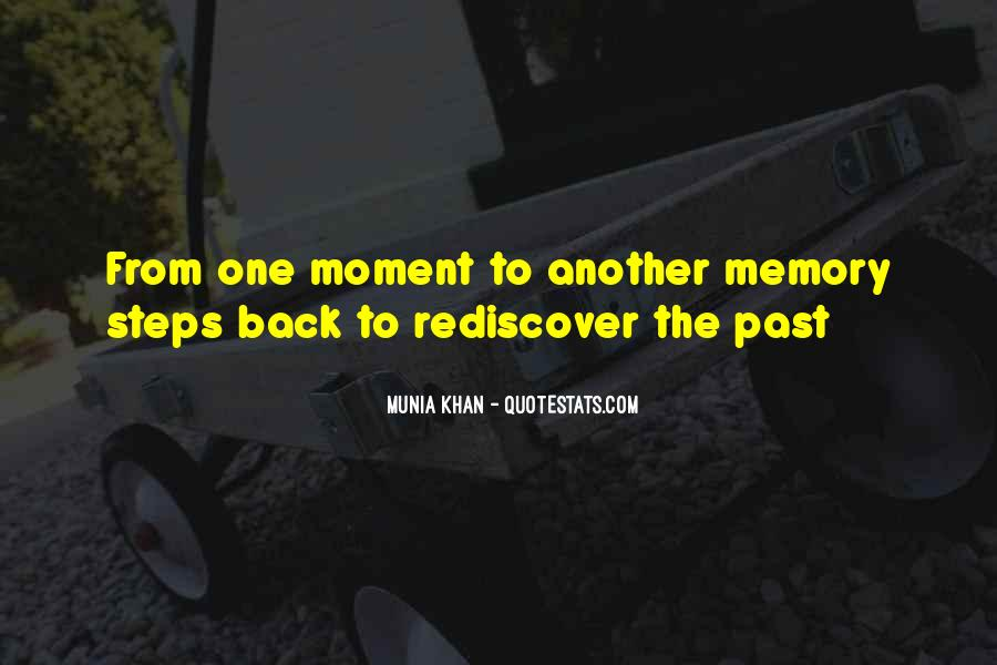 Memory Moments Quotes #1646284