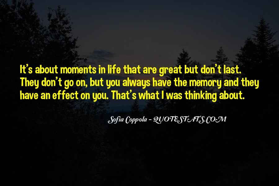 Memory Moments Quotes #1824188