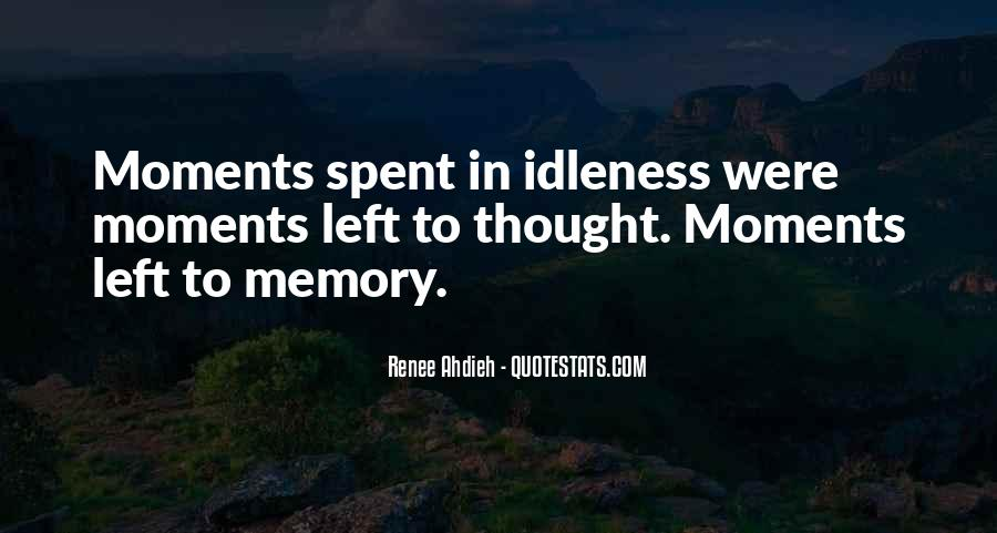 Memory Moments Quotes #630853