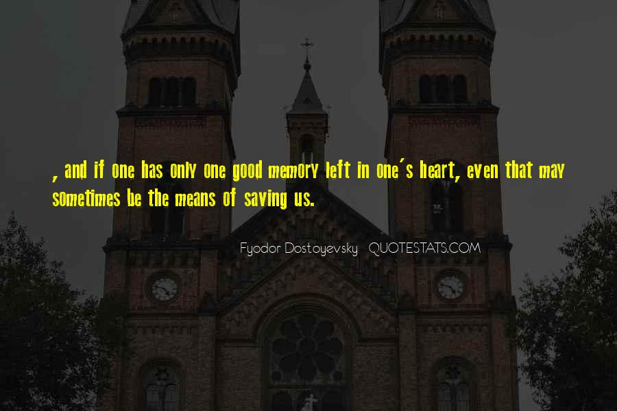 Memory Of Quotes #12947