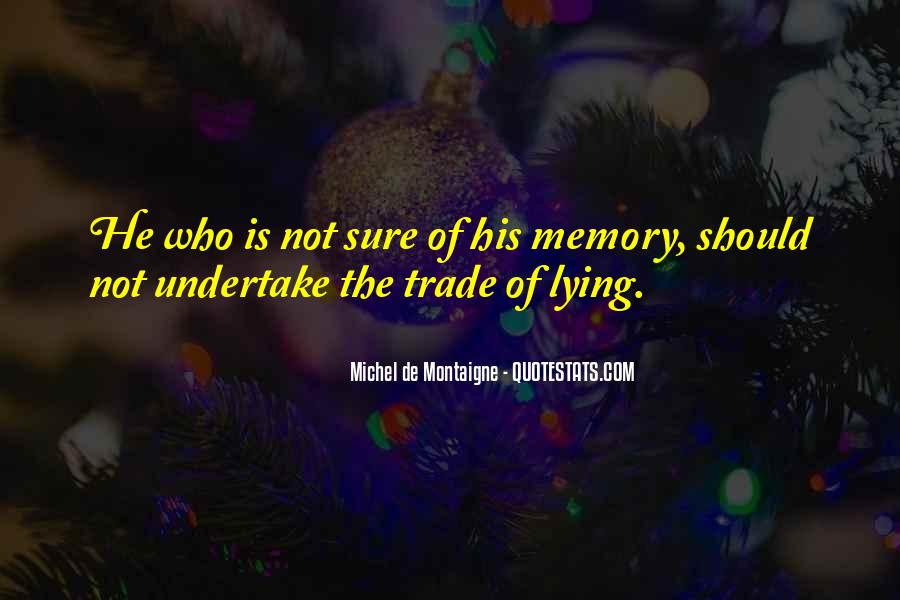 Memory Of Quotes #13945