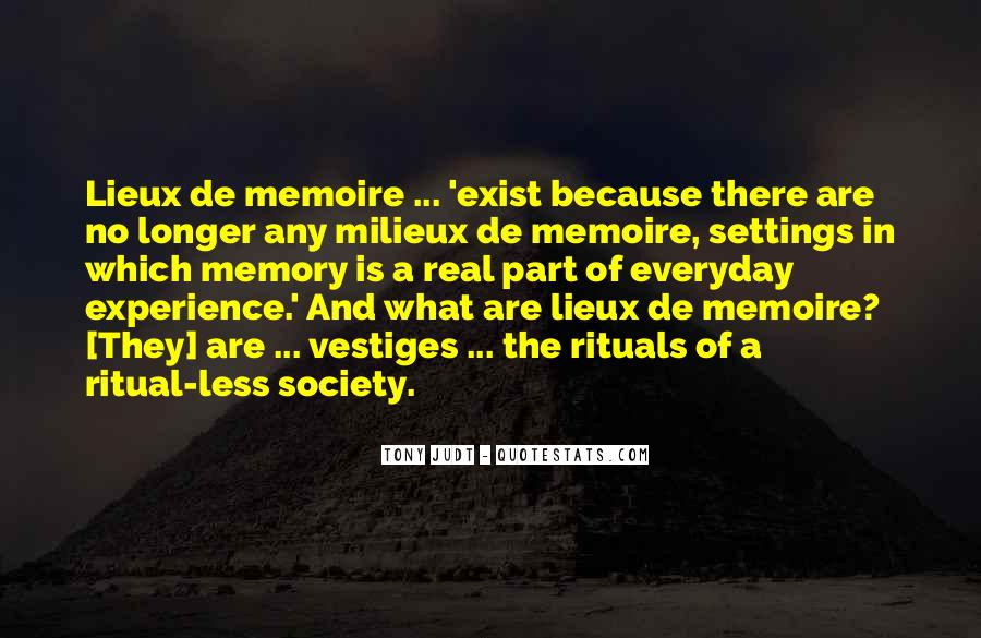 Memory Of Quotes #16823