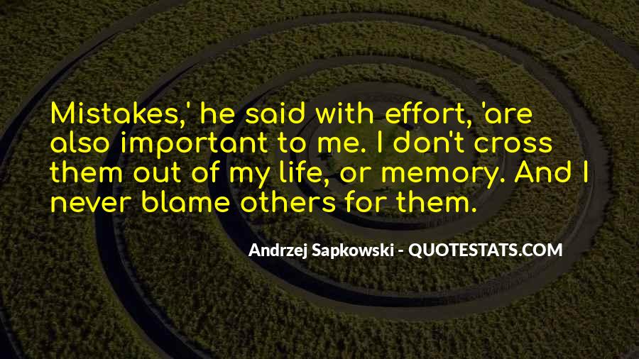 Memory Of Quotes #24313