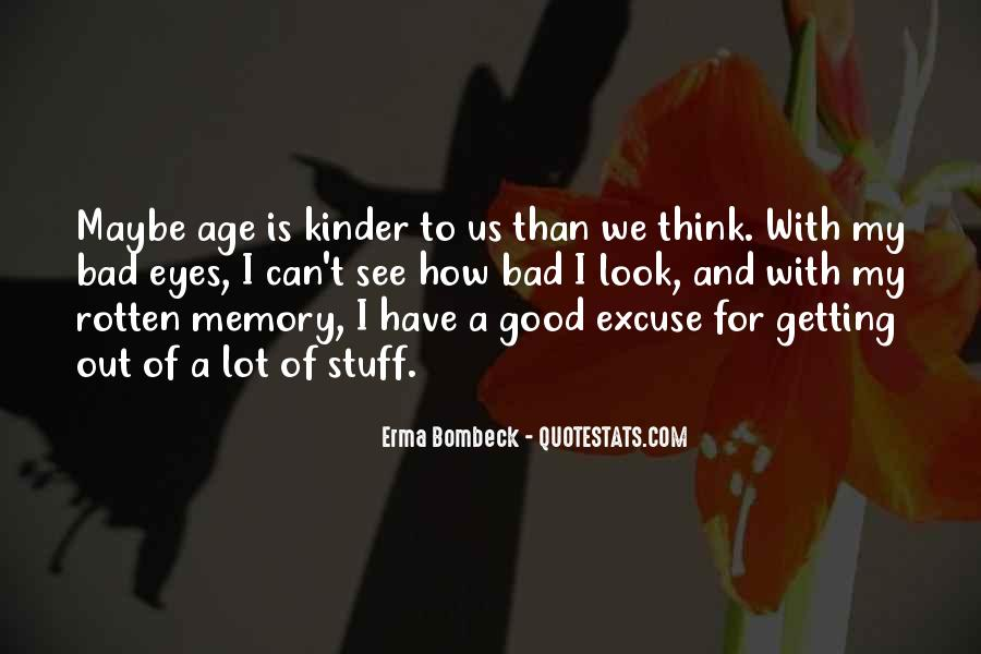 Memory Of Quotes #25656