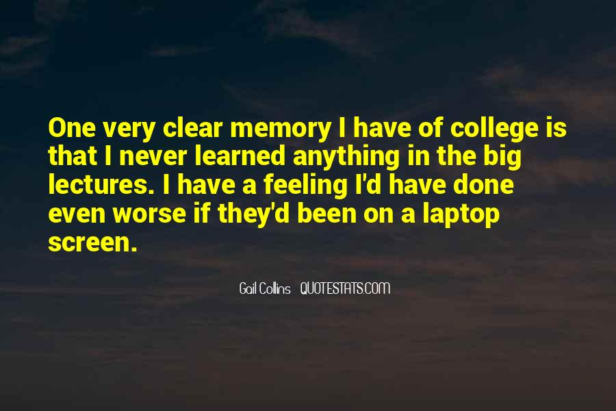 Memory Of Quotes #28371