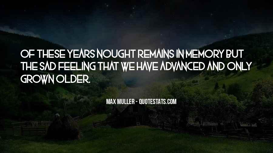 Memory Of Quotes #35850