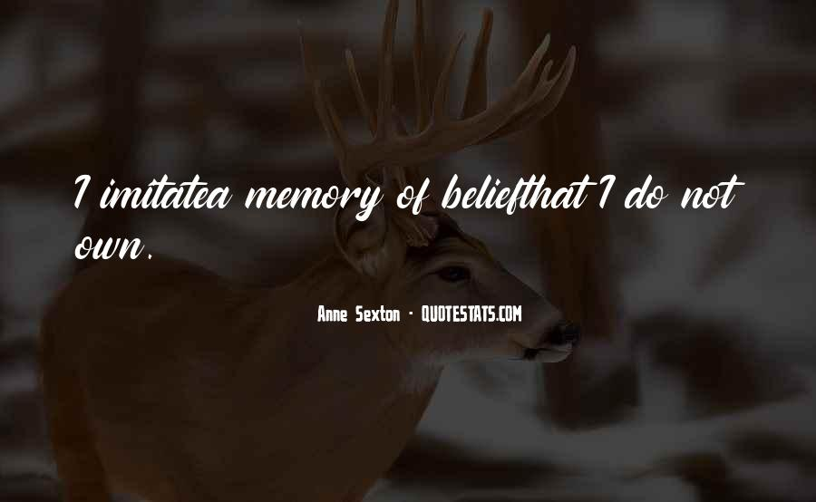 Memory Of Quotes #37812