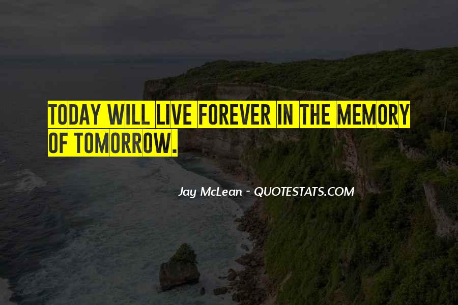 Memory Of Quotes #39665