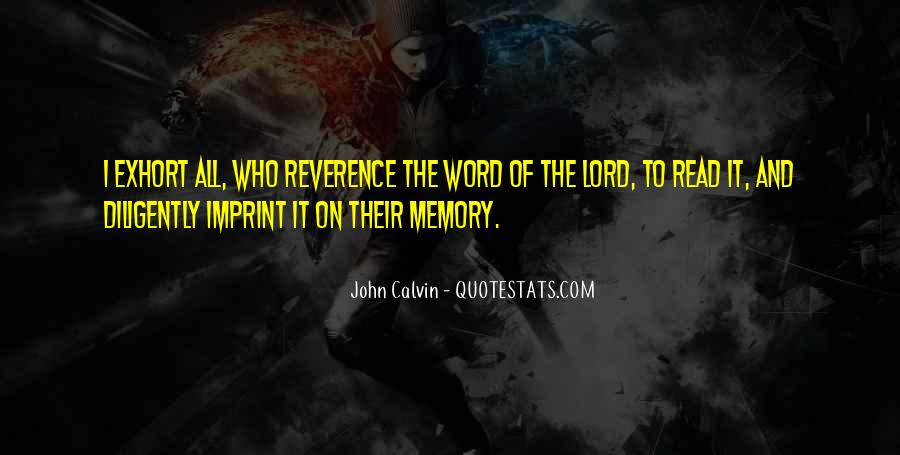 Memory Of Quotes #7161