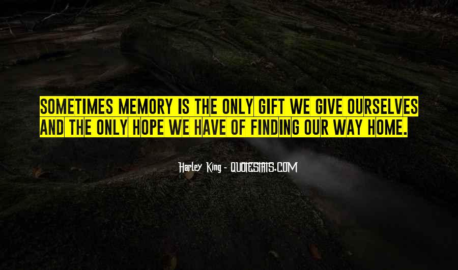 Memory Of Quotes #947