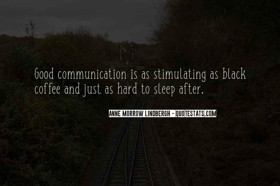 Quotes About Conversation And Coffee #1860039