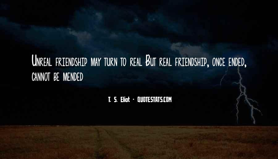 Mended Friendship Quotes #1334746