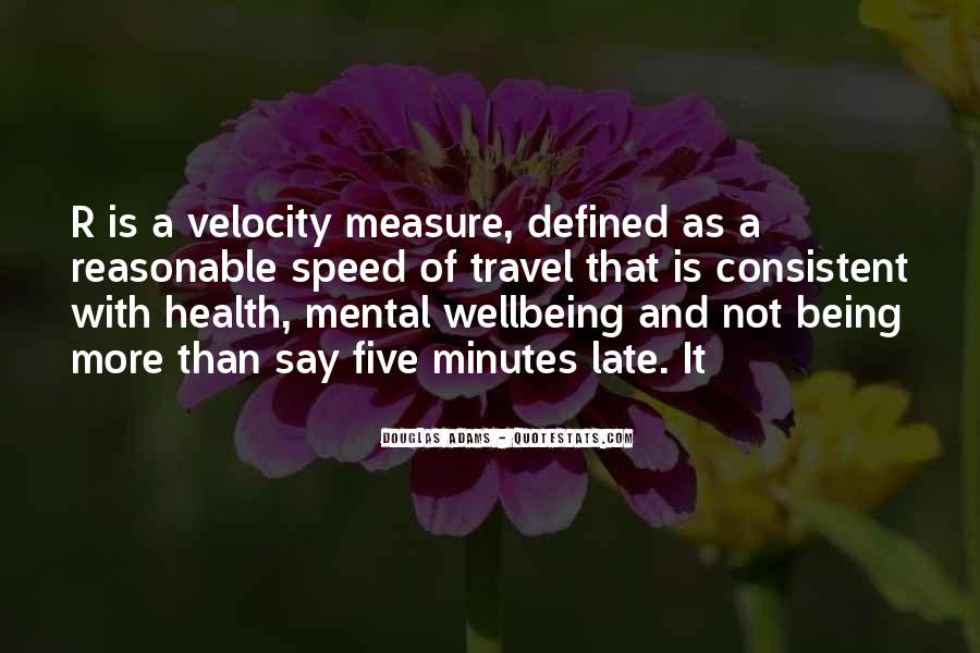 Mental Health And Wellbeing Quotes #397709