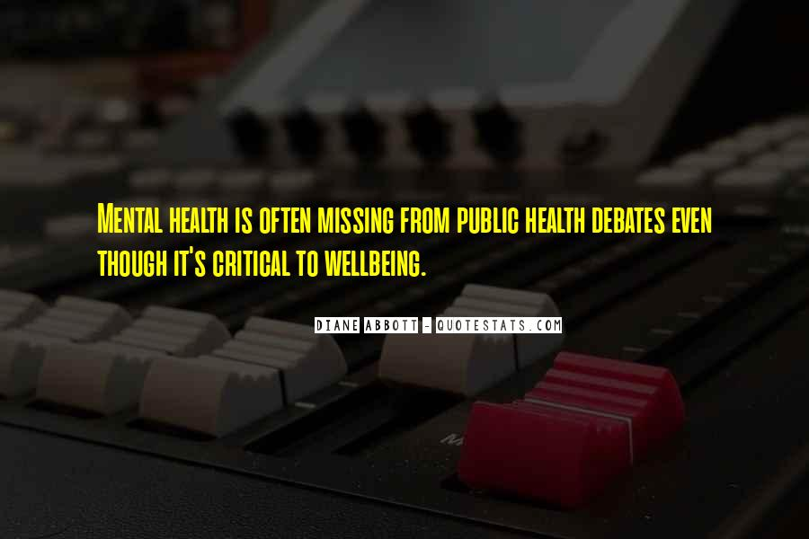 Mental Health And Wellbeing Quotes #661652