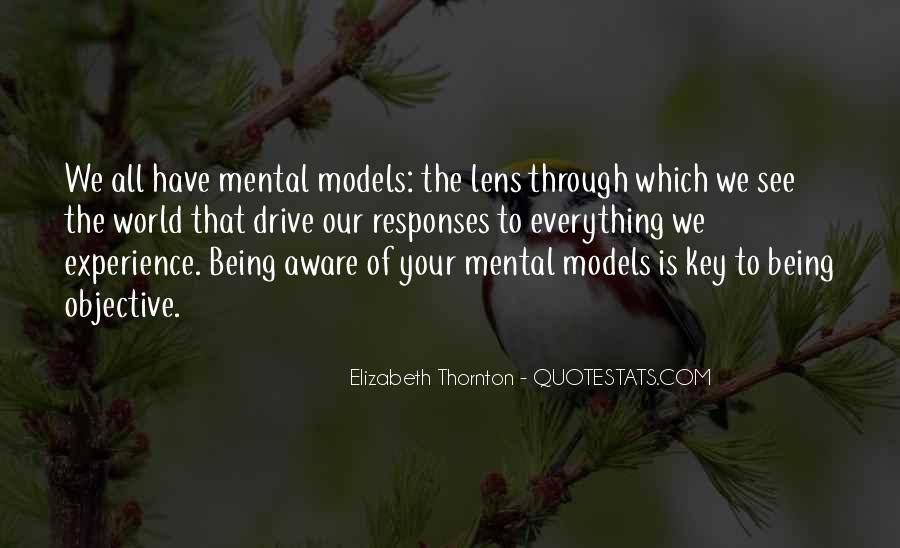 Mental Models Quotes #1509746