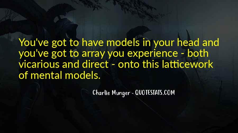 Mental Models Quotes #911267