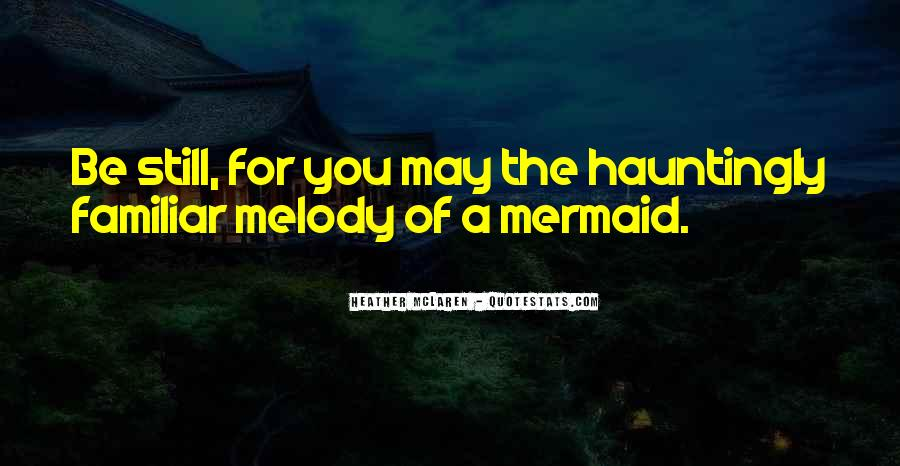 Mermaid Quotes #453561