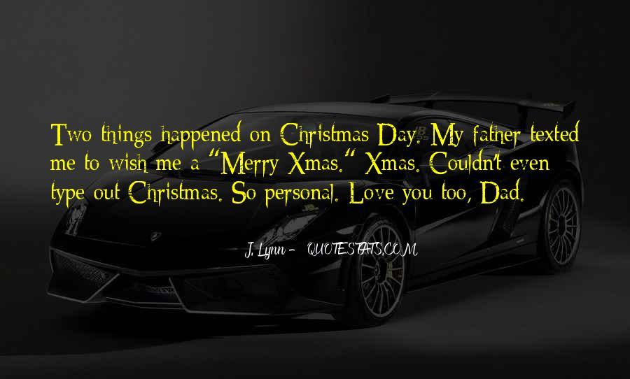 Merry Christmas I Love U Quotes #1657502