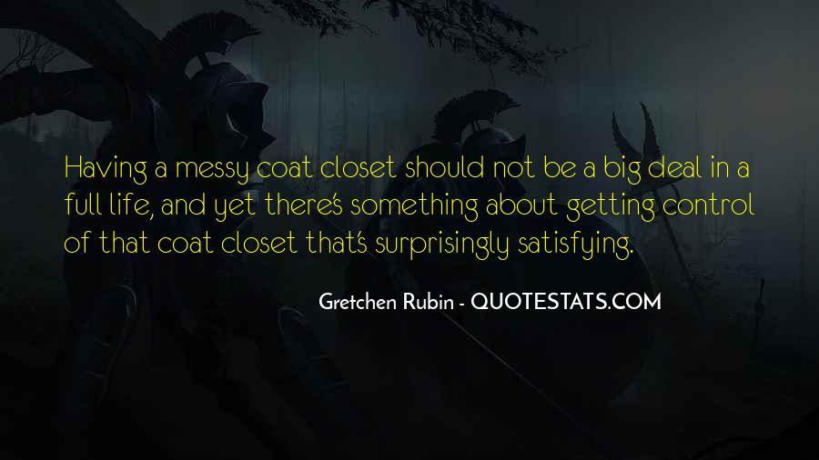 Messy Closet Quotes #1474951