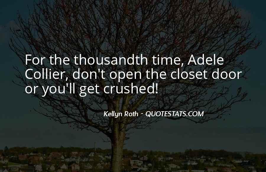 Messy Closet Quotes #228404
