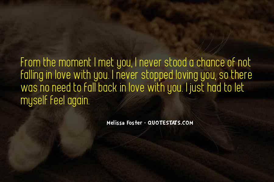Met By Chance Quotes #923288