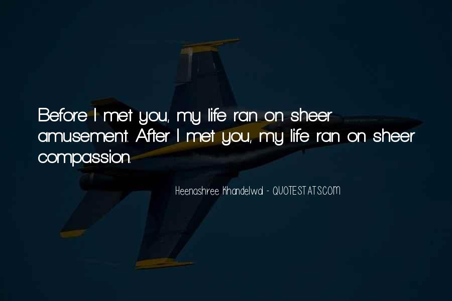 Met By Chance Quotes #924451