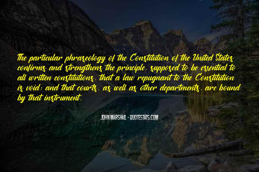 Quotes About Constitution Of The United States #1009520