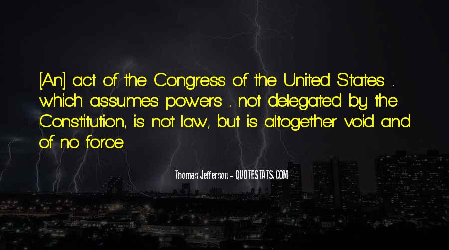 Quotes About Constitution Of The United States #1051528