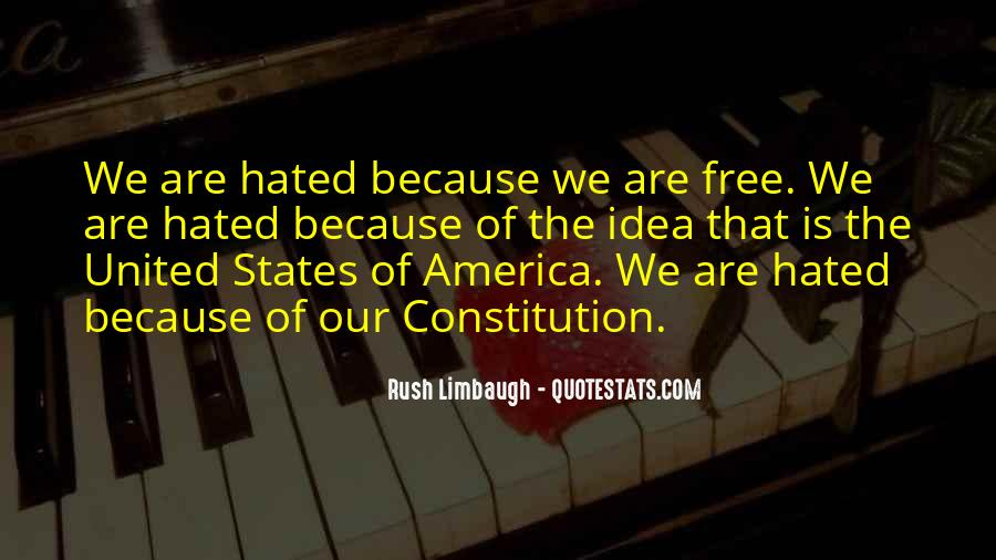 Quotes About Constitution Of The United States #1099110