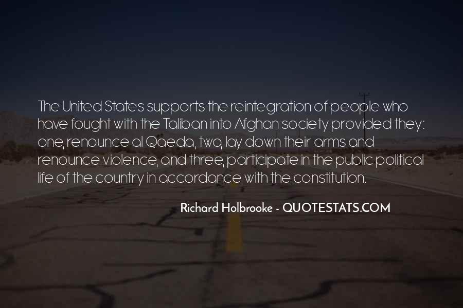 Quotes About Constitution Of The United States #1106565
