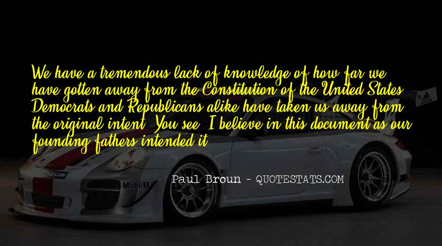 Quotes About Constitution Of The United States #1111144