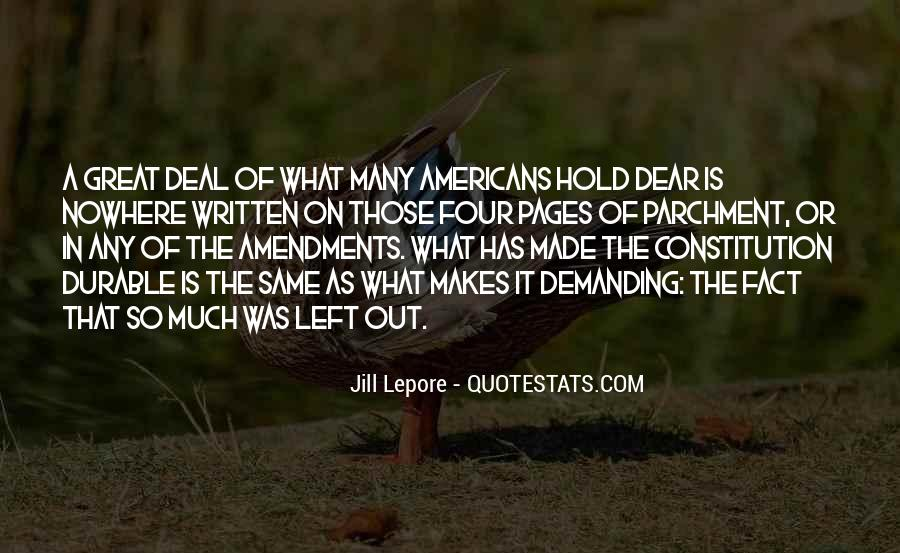 Quotes About Constitution Of The United States #1124137