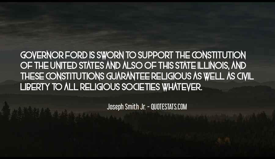 Quotes About Constitution Of The United States #1172695