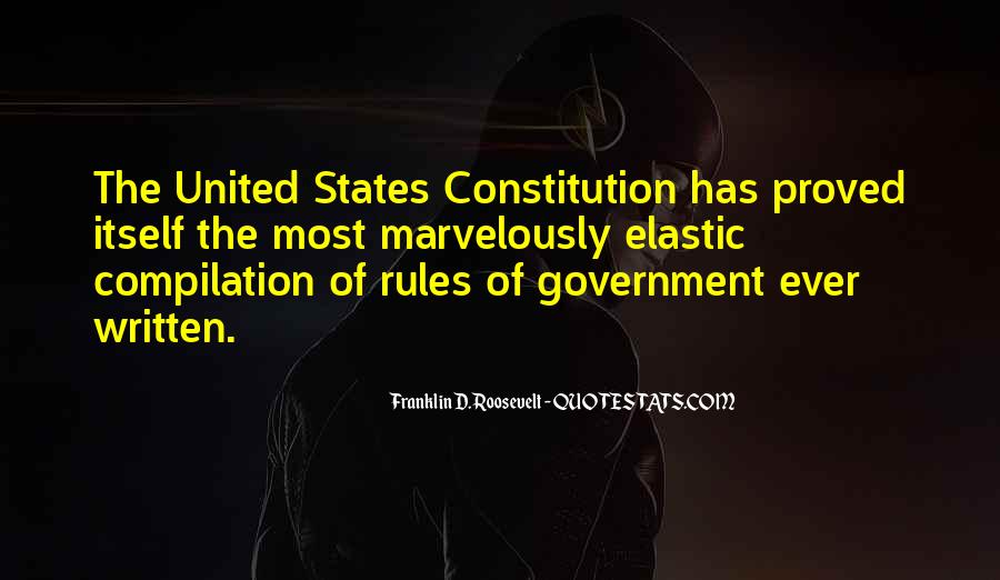 Quotes About Constitution Of The United States #1196378